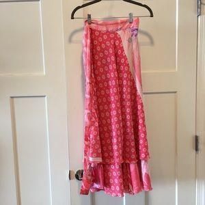 Dresses & Skirts - Silk wrap dress from Hawaii